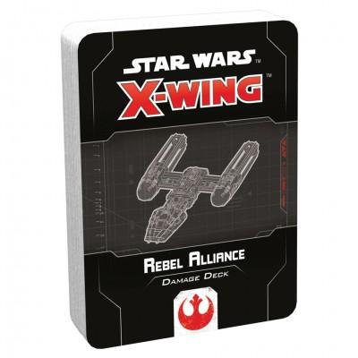 SW X-Wing 2E: Rebel Alliance Dmg Deck