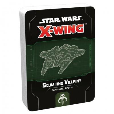 SW X-Wing 2E: Scum and Villainy Dmg Deck