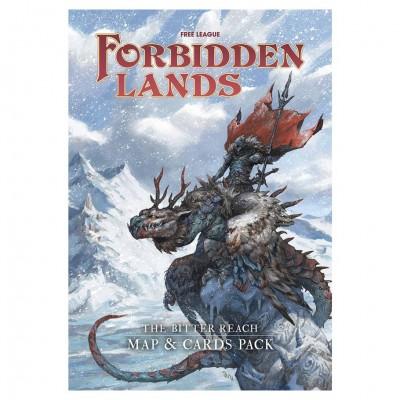 Forbidden Lands: Bitter Reach Map & Card