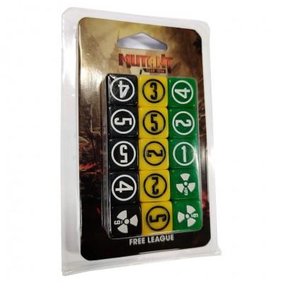 Mutant Year Zero: New Design: Dice Set