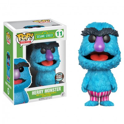 Pop! SS: Seasame Street: Herry Monster
