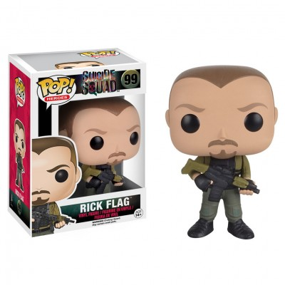 Pop! Heroes: Suicide Squad: Rick Flag