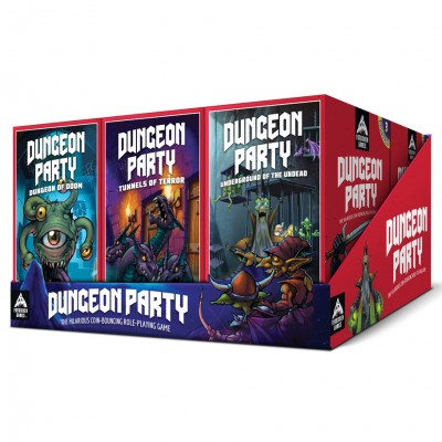 Dungeon Party: 3-Pack Display