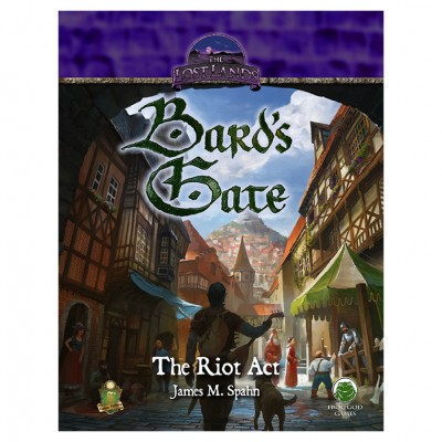 5E: Adv: Bard's Gate - The Riot Act