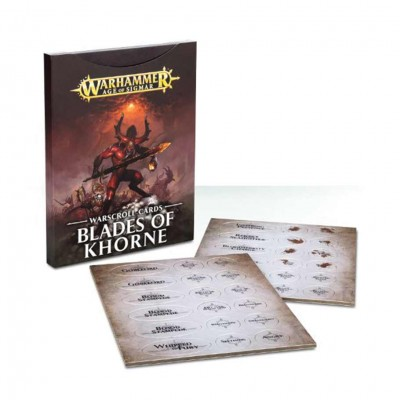 83-04 AoS: WS Cards: Blades of Khorne