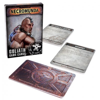 300-06-60 Necromunda: Goliath Gang Cards