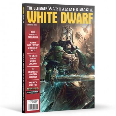 WD09-60 White Dwarf September 2019