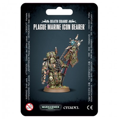 43-47 40K: DG: Plague Marine Icon Bearer