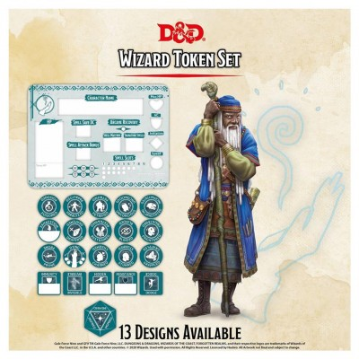 D&D: Character Tokens: Wizard