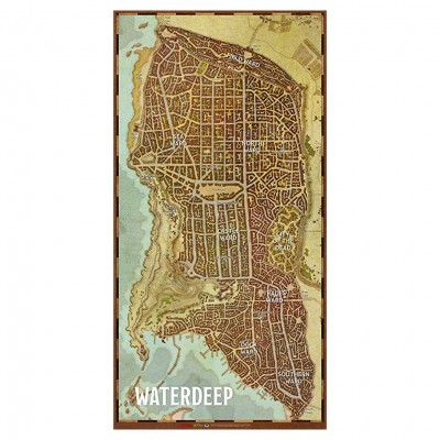 D&D: Waterdeep City Map