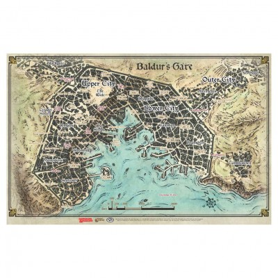 D&D: Baldur's Gate DiA:Baldur's Gate Map