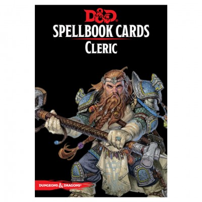 D&D Spellbook Cards: Cleric Deck