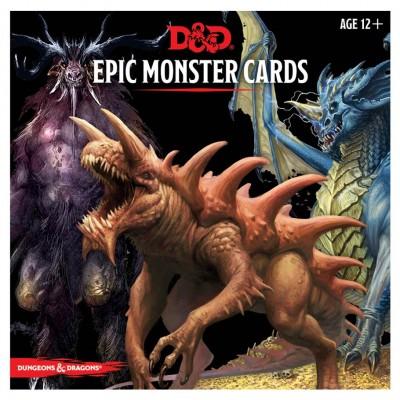 D&D Monster Cards: Epic Monsters