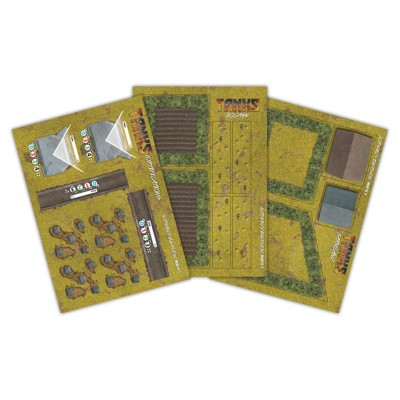 "TANKS: Villers Bocage Game Mat 36"" x 36"""