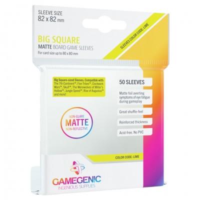 DP: Matte: Big Square Lime (50)