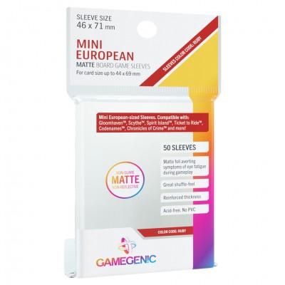 DP: Matte: Mini European Ruby (50)