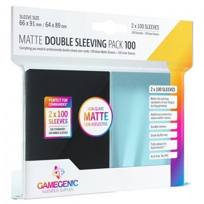 DP: Matte: Double Sleeving Pack (100)