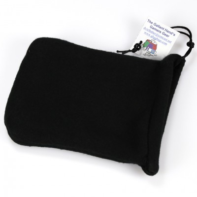 Dice Bag: 2pkt Fleece BK