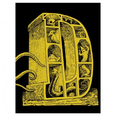 Dungeon Alphabet: Leatherbound SE (HC)