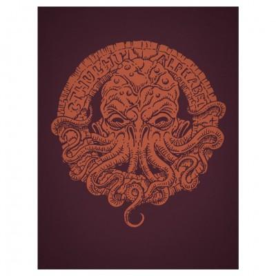 Cthulhu Alphabet: Bronze Foil (HC)