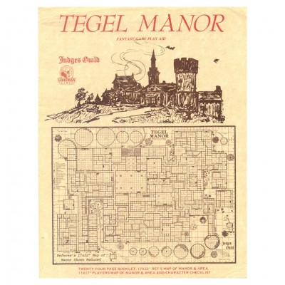 1E: Judges Guild: Tegel Manor Classic Rp