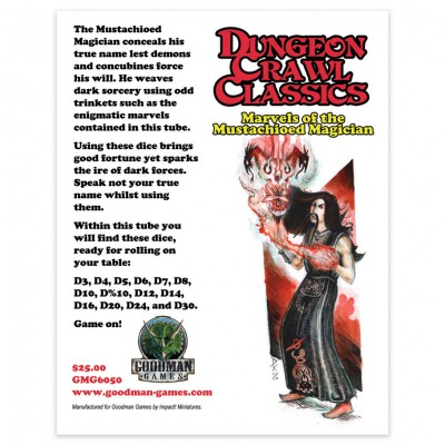 DCC: Marvels Mustachioed Magician Dice