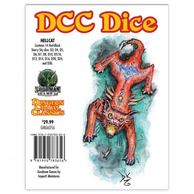 DCC: Hellcat Dice Set