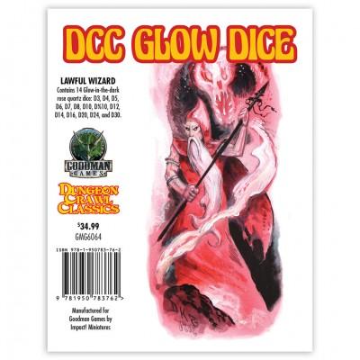 DCC: Glow: Dice Lawful Wizard
