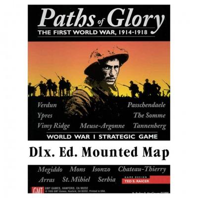 Paths of Glory Dlx Mounted Mapboard