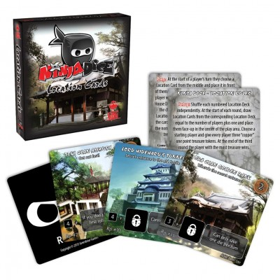 Ninja Dice Game: Location Cards Exp