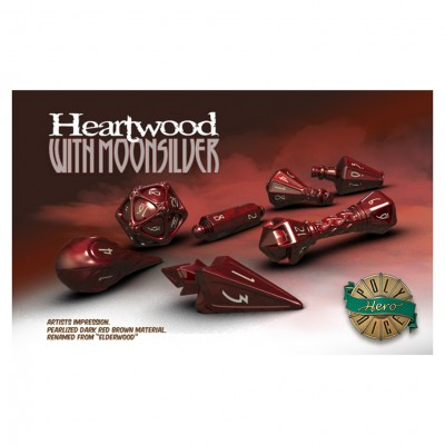 Dice: Wizard Heartwood/Silver