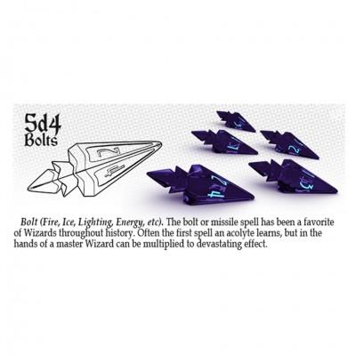 Dice: 5d4 Bolts Violet