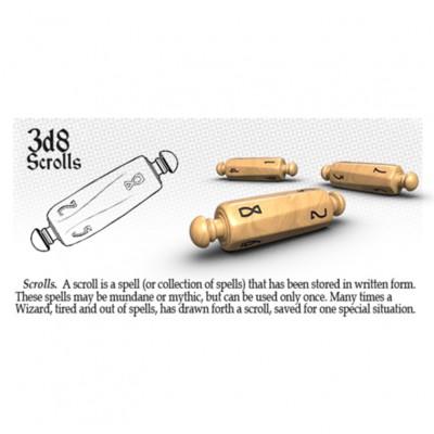 Dice: 3d8 Scrolls