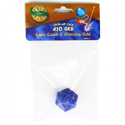 Dice: 1d20 Orb Lapis Lazuli