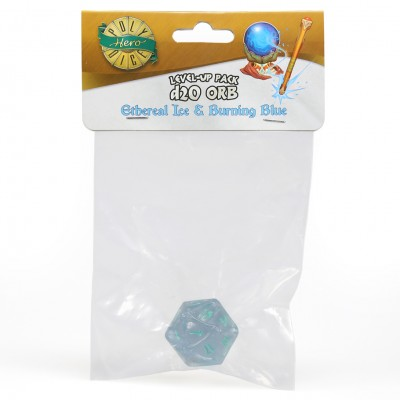 Dice: 1d20 Orb Ethereal Ice