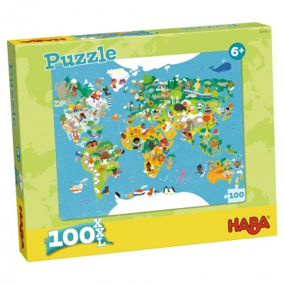 Puzzle: World Map 100pc