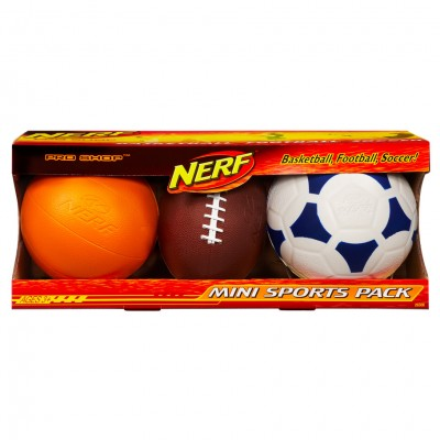 Nerf: Sports: Mini Multi-pack (4)
