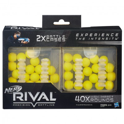 Nerf: Rival: 40 Round Battle Cases (6)