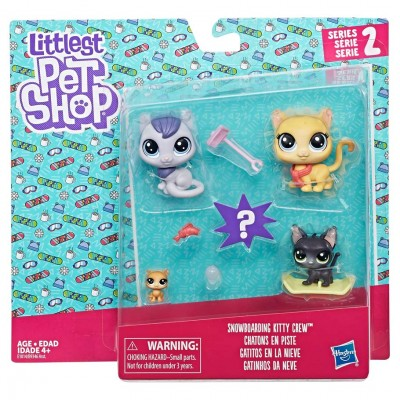 LPS: Family Pack Snowboarding Kitty (6)