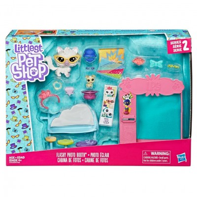 LPS: Mini Playset Flashy Photo Booth (4)