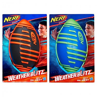 Nerf: Sports: Weather Blitz Footballs(4)
