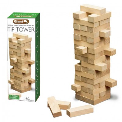 Giant Block Tower