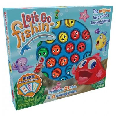 Let's Go Fishin' (bonus Go Fish game)