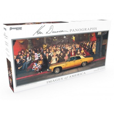Puzzle: Panoramic: Hollywood Dreams:#504