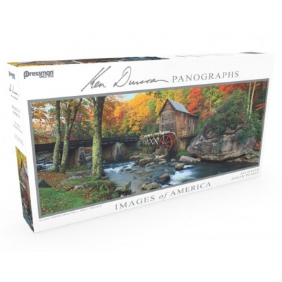 Puzzle: Panoramic: Glade Creek Mill #504