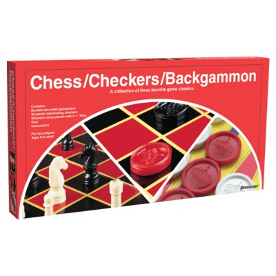 Checkers/Chess/Backgammon-Folding Board