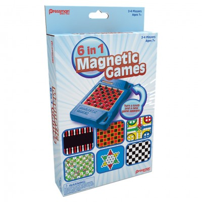 6in1 Travel Magnetic Games