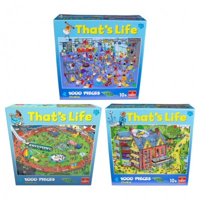 Puzzle: That's Life Ast (6) 1000 Pieces