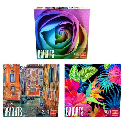 Puzzle: Brights Ast (6) 300pc