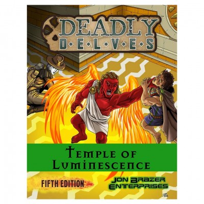 5E: Deadly Delves:Temple of Luminescence